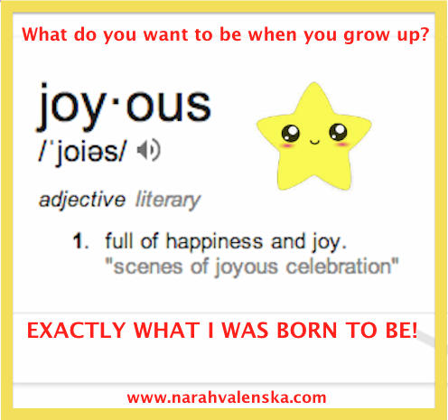 Joyous by Narah Valenska Smith - 3 Things You Can do To Be Happy No Matter What